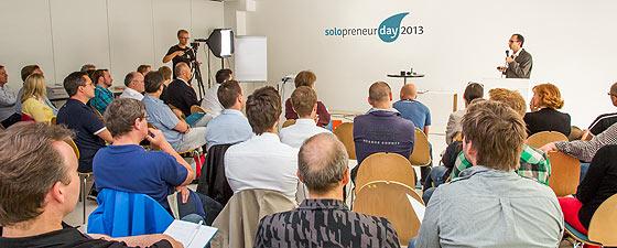 Plenum des Solopreneur Days 2013