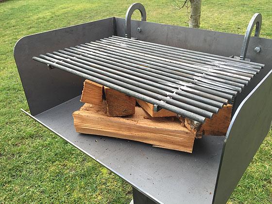 Grill für Holz